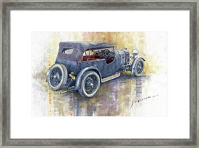 1932 Lagonda Low Chassis 2 Litre Supercharged  Framed Print