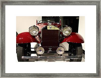 1932 Lancia Dilambda Tourer - 7d17207 Framed Print by Wingsdomain Art and Photography