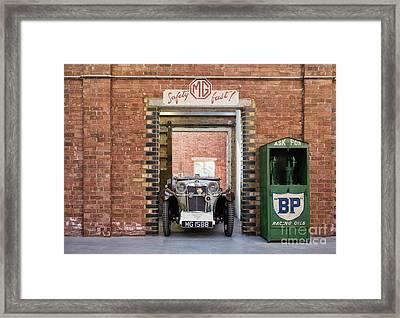 1932 Mg Framed Print