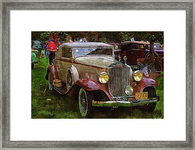 1932 Packard 900 Framed Print