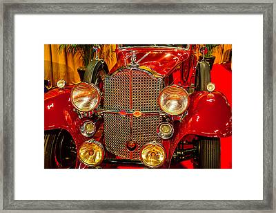 1932 Packard Model 902 Framed Print by Garry Gay