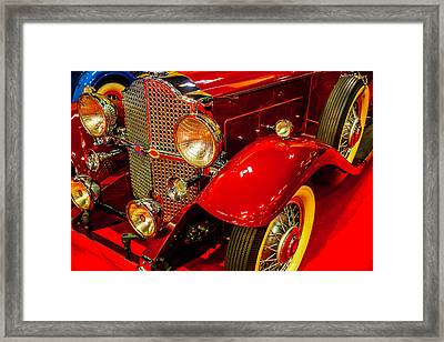1932 Packard Model 902 Rumble Seat Coupe Framed Print by Garry Gay