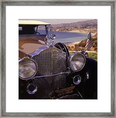 1932 Packard Phaeton Framed Print