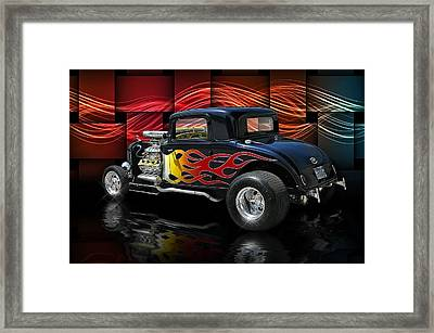 1932 Plymouth Coupe .... Framed Print by Rat Rod Studios