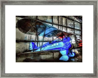 1932 Waco Biplane Framed Print