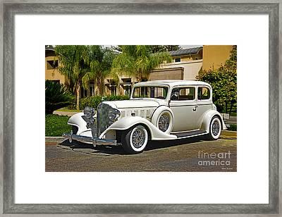 1933 Buick Series 86 Victoria I Framed Print
