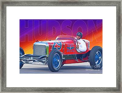 1933 Martz Special Framed Print by Ed Dooley