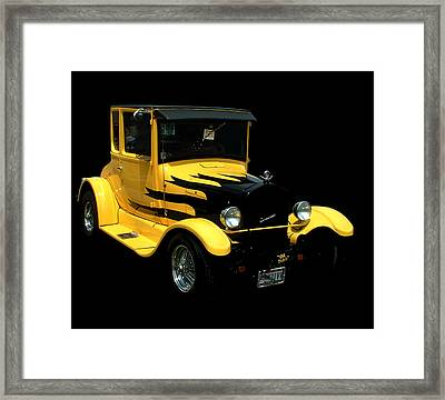1933 Model T Ford Framed Print by Kathleen Stephens