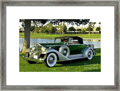 1933 Packard 1005 Convertible Coupe Framed Print