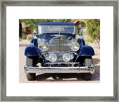 1933 Packard 12 Convertible Coupe Framed Print