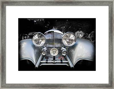1934 Bentley Drop Head Coupe Framed Print by Jack R Perry