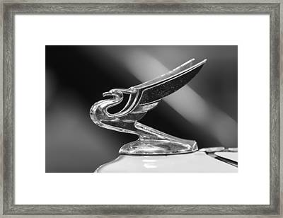 1934 Chevy Deluxe Framed Print by Bill Tiepelman