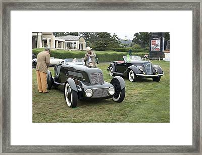 1934 Ford Model 40 Special Speedster Framed Print by Jill Reger