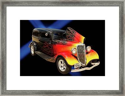1934 Ford Street Rod Classic Car 5545.04 Framed Print