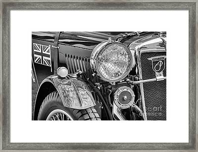 Framed Print featuring the photograph 1934 Mg Pa Roadster by Dennis Hedberg