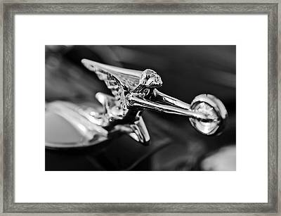 1934 Packard Hood Ornament 2 Framed Print by Jill Reger