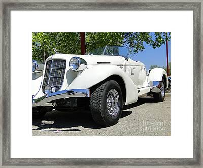 1935 Auburn 851 Boattail Speedster Framed Print by Al Bourassa