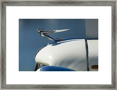 1935 Auburn Hood Ornament 3 Framed Print by Jill Reger