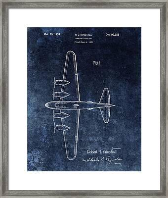 1935 Bombing Airplane Framed Print