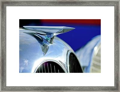 1935 Brewster Hood Ornament Framed Print by Jill Reger