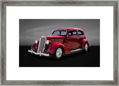 1935 Ford 2-door Sedan  -  35fdsd33 Framed Print