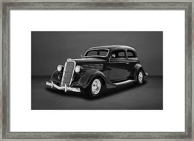 1935 Ford 2-door Sedan  -  35fdsdbw55 Framed Print