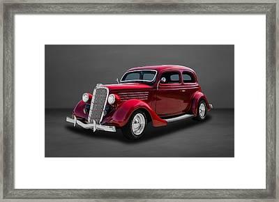 1935 Ford 2-door Sedan  -  35fdsdgr44 Framed Print