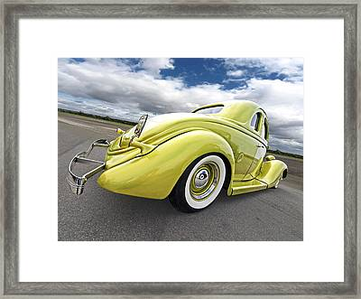 1935 Ford Coupe Framed Print by Gill Billington