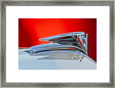 1935 Ford V8 Hood Ornament 3 Framed Print by Jill Reger