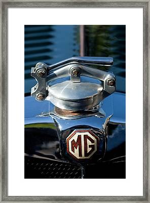 1935 Mg Na Magnette Hood Ornament Framed Print by Jill Reger