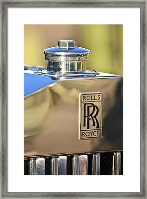 1935 Rolls-royce Phantom II Hood Ornament Framed Print