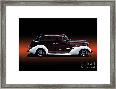 1936 Chevy Master Deluxe Framed Print