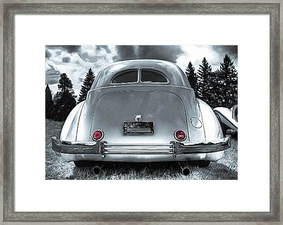 1936 Cord Automobile Rear View Framed Print by Thom Zehrfeld