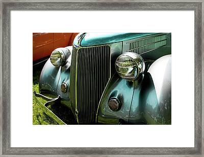 1936 Ford V8 Model 48 Framed Print