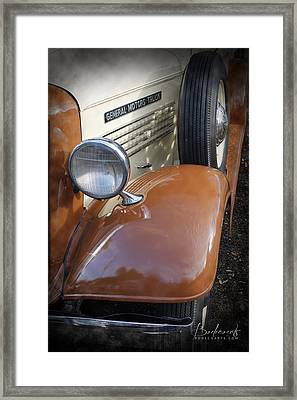1936 Gmc Pickup Truck 2 Framed Print