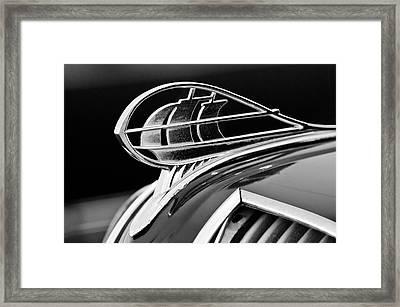 1936 Plymouth Sedan Hood Ornament 2 Framed Print