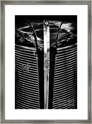 1937 Buick 8 Special Framed Print by Tim Gainey