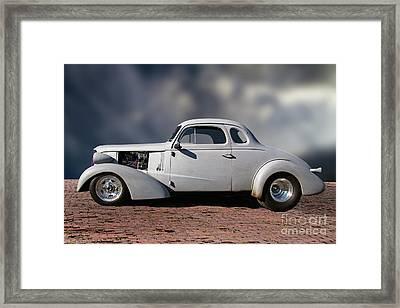 1937 Chevrolet Coupe Hot Rod Framed Print