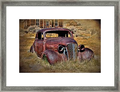 1937 Chevrolet Coupe Framed Print