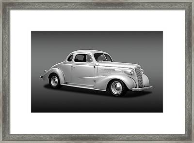 1937 Chevrolet Master Deluxe  -  37chevycoupefa170250 Framed Print by Frank J Benz