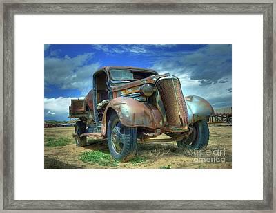 1937 Chevrolet Framed Print