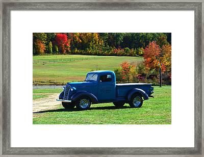 1937 Chevrolet Truck Framed Print by Mike Martin