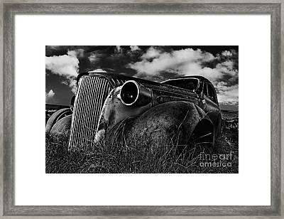 1937 Chevy Coupe Framed Print by Peter Dang