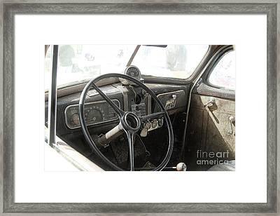 1937 Chevy  Framed Print by Steven Digman