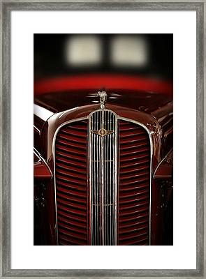 1937 Dodge Half-ton Panel Delivery Truck Framed Print by Gordon Dean II