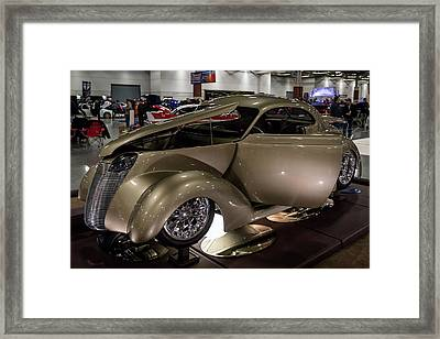 Framed Print featuring the photograph 1937 Ford Coupe by Randy Scherkenbach