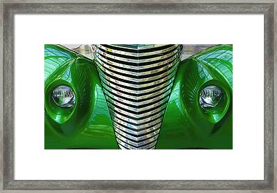 1937 Ford Roadster Framed Print by Mark Papke