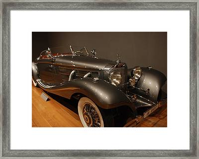 1937 Mercedes Benz 540 Special Roadster Framed Print