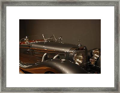 1937 Mercedes-benz 540k Special Roadster Framed Print