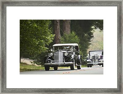 1937 Packard 1507 Twelve Sport Phaeton  Framed Print